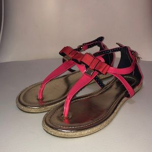 Tommy Hilfiger girls sandals with bow
